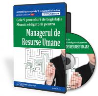 Proceduri obligatorii pentru Managerul de Resurse Umane