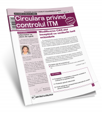 Circulara privind controlul ITM