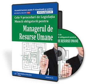 9 proceduri obligatorii pentru managerul de resurse umane