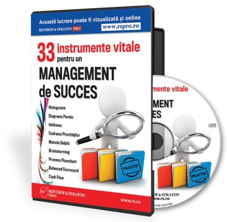 33 de instrumente pentru un management de succes