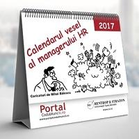 Calendarul vesel al Managerului de HR 2017