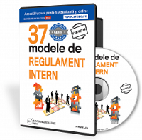 37 de modele de Regulament Intern
