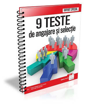 9 TESTE de angajare si selectie