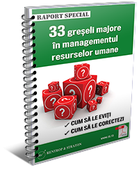 33 de greseli majore in managementul HR